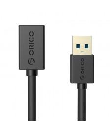 Orico USB3.0 AM to AF 3,3 Ft / 1M Καλώδιο Επέκτασης USB - Μαύρο (CER3-10-BK)