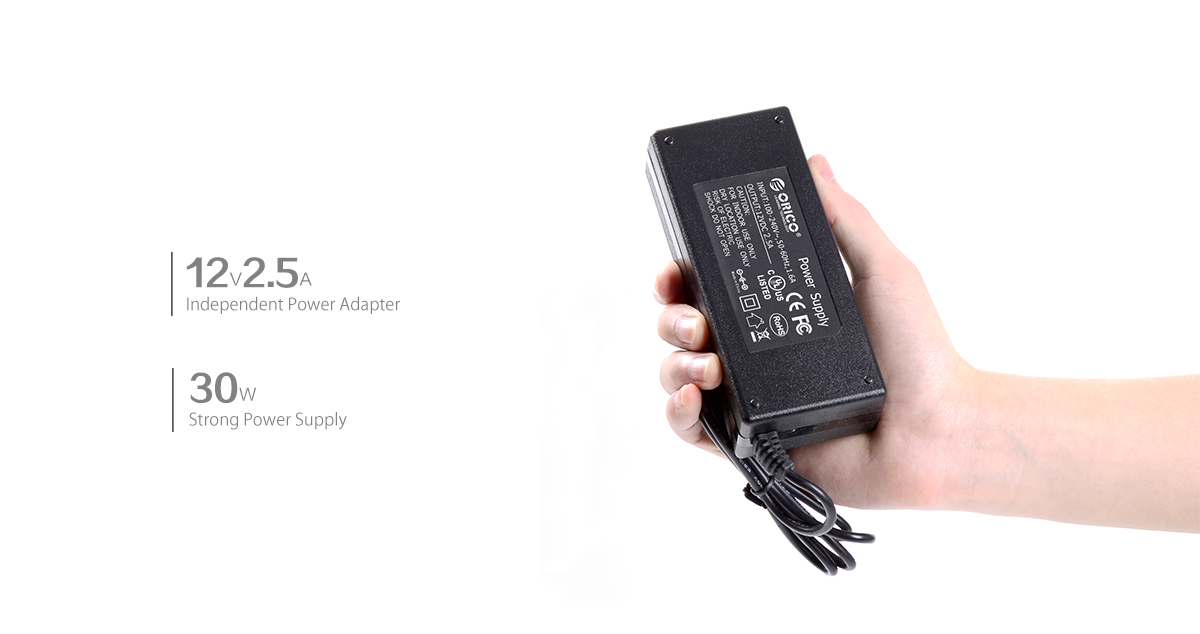 30W power adapter, stable operation